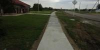Закончен ремонт тротуара по ул.Пионерской