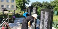 Благоустройство памятника